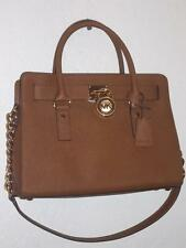 MICHAEL KORS LUGGAGE HAMILTON  E/W SATCHEL in SAFFIANO LEATHER NEW