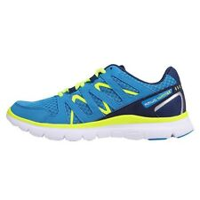 Womens Karrimor Duma Running Shoes Sport Ladies Blue Lime Trainers