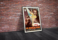 The Red Shoes 1948 Spanish Vintage Movie Poster Framed