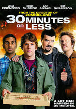 30 Minutes or Less (DVD 2011 Widescreen) HILARIOUS! BRAND NEW SEALED