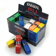 Karakal Super Grip PU assorted Racket Grips for Tennis, Squash, Badminton