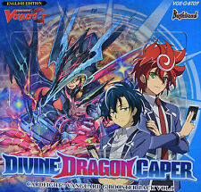 Cardfight Vanguard Divine Dragon Caper VGE-G-BT09 - Choose your 4 Card Playsets