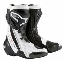 Alpinestars Supertech R White Vented Racing & Sport Motorcycle Boots was £399