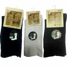 New  5 Pairs Mens Cotton Socks Loose Top Foot Sport Socks Cotton Rich Size 2-8