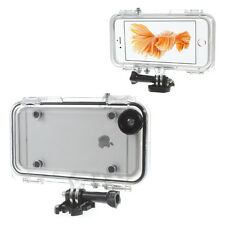 Extreme Sports Waterproof Case with Wide Angle Lens for iPhone 6s Plus/6 Plus