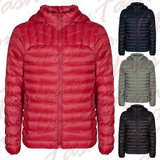 Women Quilted Padded Hooded Puffer Bubble Collar Warm Thick Ladies Jacket Coat