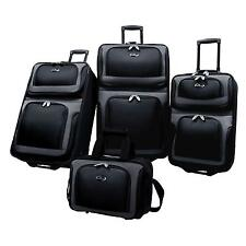 US Traveler New Yorker 4 Piece Expandable Luggage Set