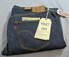 Levis LVC 501xx 1947 Cone Denim Jeans Red Tab Retail 240.00 New with Tags