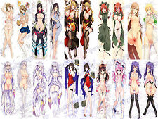 New Cosplay Anime Sexy naked girl Pillow soft iron Cover Case 150cm sexy C11
