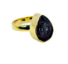 Mystic Quartz Copper Ring L-1in Junoesque Multi wholesales AU K,M,O,Q