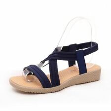 New Style Lace-Up Closure Flat with Ankle Strap Fashionable Sandal For Women