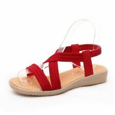 New Fashionable Lace-Up Closure Flat with Ankle Strap Sandal For Women