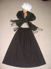 Ladies, Girls, Victorian, Edwardian, Teacher, costume, outfit, fancy dress 4 pce