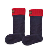 Joules X Hilston Welly Socks – French Navy/Red Top