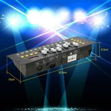 Mini 192 Channels DMX512 Controller Console Stage Lighting Party Bar Club A8K2