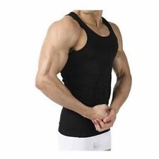 Mens Slimming Body Shaper Vest Sleeveless Belly Buster Undershirt Lose Weight