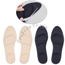 1Pair Insoles Arch Support Heel Cushion Shoe Plantar Orthotic 4D-Sponge Barefoot