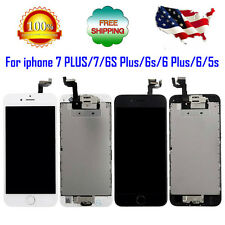 iPhone LCD Display Glass Lens Touch Screen Digitizer Assembly Replacement Parts