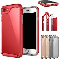 CASE CLEAR HYBRID SHOCKPROOF SOFT TPU BUMPER COVER IPHONE 6S PLUS  7 PLUS 5S 5