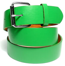 BENDER BELT ● Green Golf Belt - BONDED LEATHER | REMOVEABLE BUCKLE