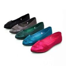 Womens lady Casual Flats Shoes Dancing Summer breath 5 Color Plus Size loafer
