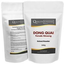 FEMALE GINSENG EXTRACT - DONG QUAI - 10:1 Extract Powder - Strength & Quality