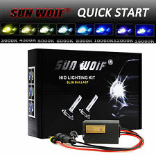 AC 35W 55W Xenon HID Light Conversion KIT QUICK START H1 H3 H4 H7 9005 9006 9007