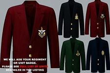 UNITS A TO D EMBROIDERED RAF ROYAL NAVY BLAZER JACKET BADGE + REGIMENTAL BUTTONS