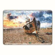 MacBook Skin Sticker Cover Oil Painting Pro Vinyl Decal Art Boat Beach FSM161