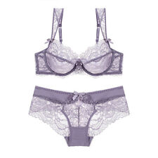 Luxury Lingerie Bra Set New Push Up Embroidery Lace Plus Size Bra And Panty Sets