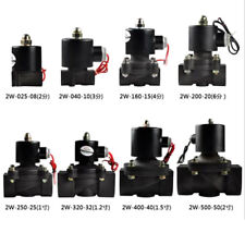 Electric Solenoid Valve for Water Air Oil Fuels Normally Closed DC12V 24V