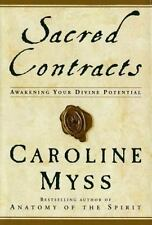 Sacred Contracts by Caroline Myss First Edition First Printing