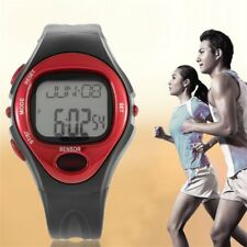 Pulse Heart Rate Monitor Calories Counter Fitness Watch Time Stop Watch Alarm PP