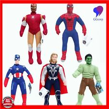Marvel The Avengers Plush Toys 40cm Spiderman Iron Man Hulk Captain America Thor