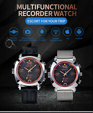 Wifi Camera Watch Remote VideoMinitor HD Video Recorder Watch With Led Flashliht