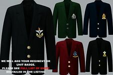 UNITS I TO N EMBROIDERED REGIMENTAL ARMY ROYAL NAVY BLAZER JACKET BADGE BUTTONS