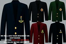 UNITS S TO Z EMBROIDERED REGIMENTAL ARMY RAF NAVY BLAZER JACKET BADGE BUTTONS