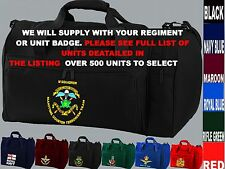 UNITS S TO Z UK AMERICAN ARMY NAVY AIR FORCE MARINES USMC SEALS KIT BAG HOLDALL
