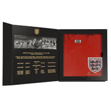 Official Retro Bobby Moore 1966 World Cup Final shirt Box Set  100% COTTON