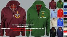 UNITS R TO R EMBROIDERED REGIMENTAL ARMY RAF ROYAL NAVY HARRINGTON MOD JACKET