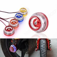 1 Pair Motorcycle Front Frame Crash Protector Guard Slider With Light Universal
