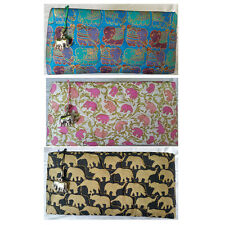 Elephant Zipper Bag Wallet Purse Coin Credit Card Bank Note  Cosmetics