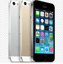 A+ Apple iPhone 5S- 16 32 64GB GSM Factory Unlocked 4G Smartphone Various Color