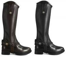 Brogini Treviso Piccino Horse Riding Gaiters Childs AGE 6-12 YEARS BLACK OR BROW