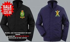 SALE TO CLEAR REDUCED UNITS N-Q DELUXE EMBROIDERED WINDPROOF WATERPROOF JACKETS