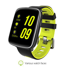 Smart Watch Bluetooth Pedometer Waterproof Wristwatch Compatible IOS or Android