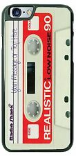 Cassette Tape Radio Shack with your text Phone Case fits iPhone Samsung LG HTC
