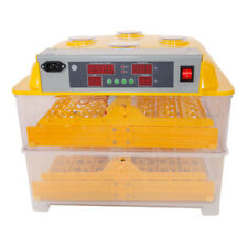 7 32 36 48 56 96 Eggs Incubator Poultry Automatic Chicks Hatching Digital Turner