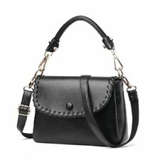 Women Fashion Satchels Shape Soft Pu Leather Cross Body Shoulder Bag