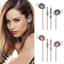 3.5mm In-Ear Earphone Stereo Headphones Headset Super Bass Earbud For Smartphone